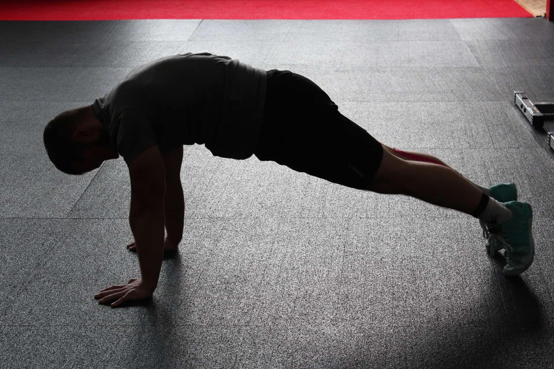 negative pushup