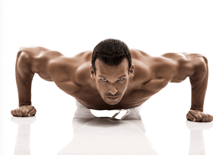 wide pushup