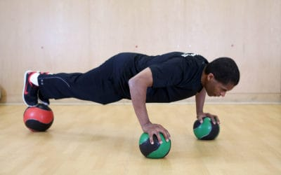 Ball Pushup- Take Your Core Strength To The Next Level