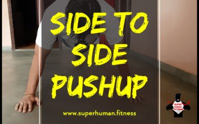 Side To Side Pushup- Progression Towards One Arm Pushup