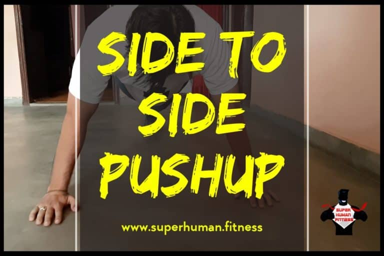 Side To Side Pushup