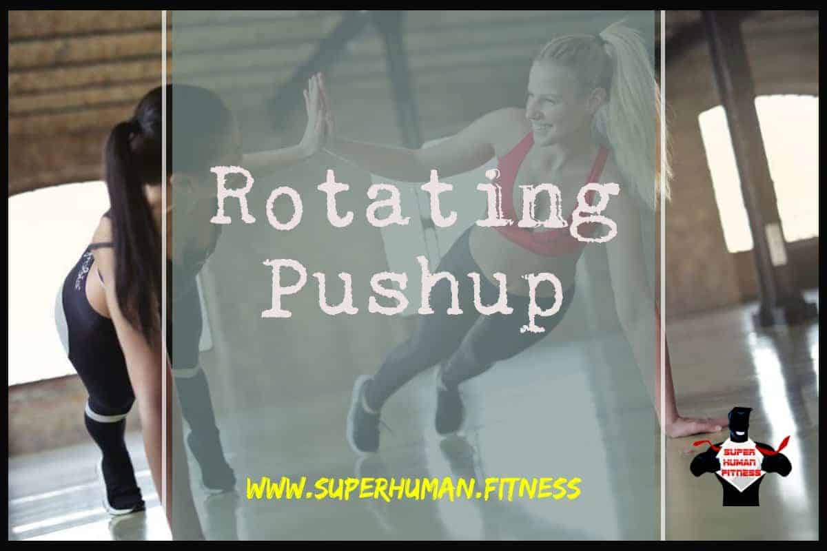 Rotating Pushup