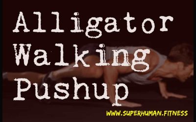Alligator Walking Pushup – A Must Try Exercise