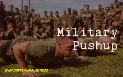 Military Pushup – Be Strong Like A Marine