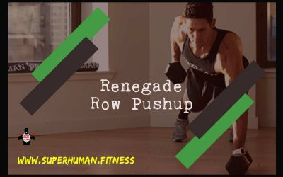 Renegade Row Pushup For Stronger Back, Core And Chest