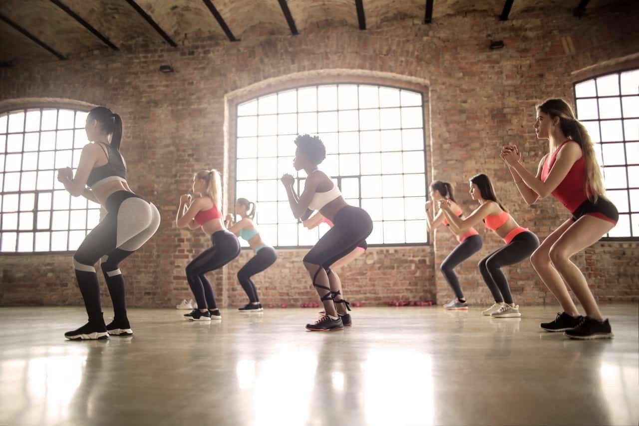 squats during periods