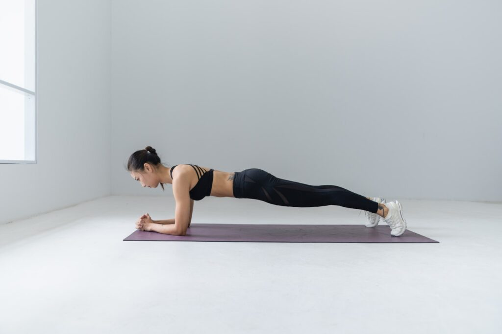 Plank Workout During Periods