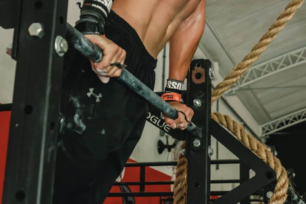 Bar Muscle Up progression