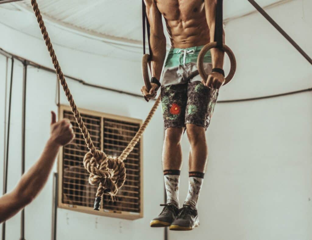 Ring Muscle Up