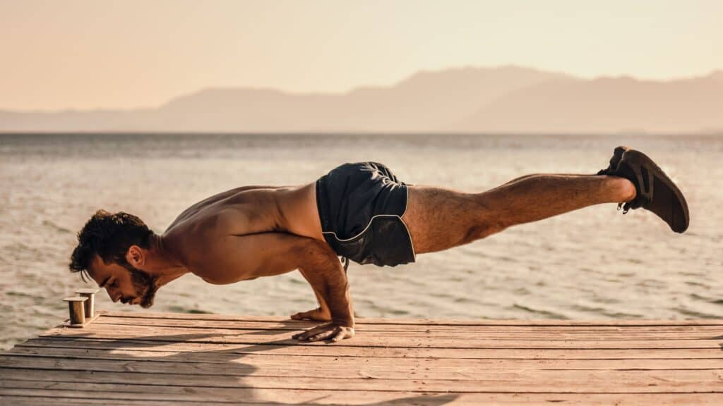 Planche Pushup